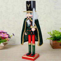 38CM Nutcracker Soldier Christmas Ornament Decoration