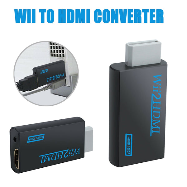 WII To HDMI Video Converter Adapter Stick