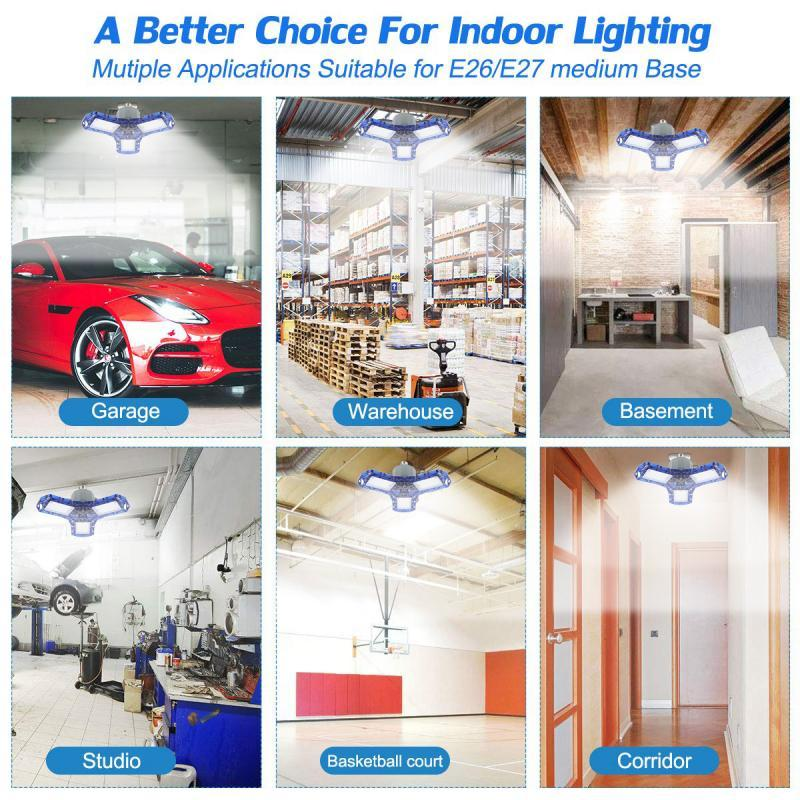 Super bright LED garage lights