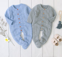 Baby Knitted Overalls