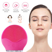 Portable Electric Facial Cleansing Face Massager