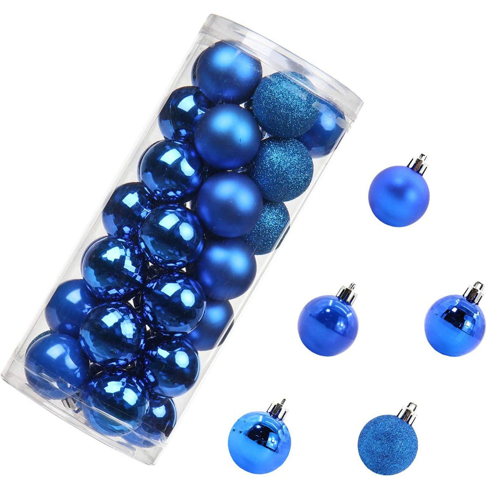 Christmas Tree Hanging Shiny Ball Ornaments