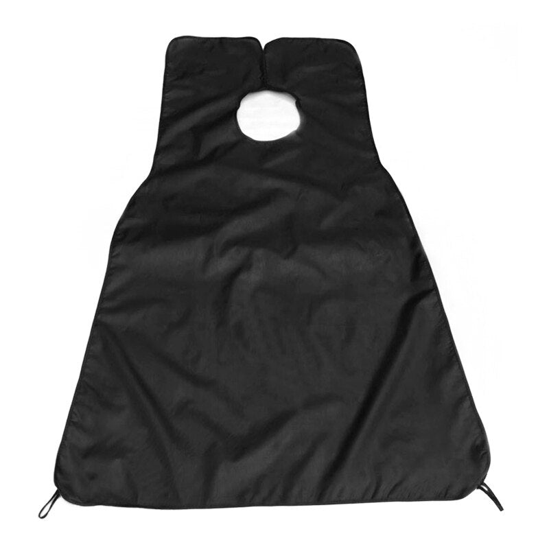 Cutting Beard Hair Apron