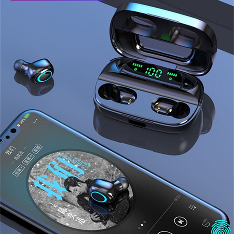 3500mAh LED Bluetooth Earphones