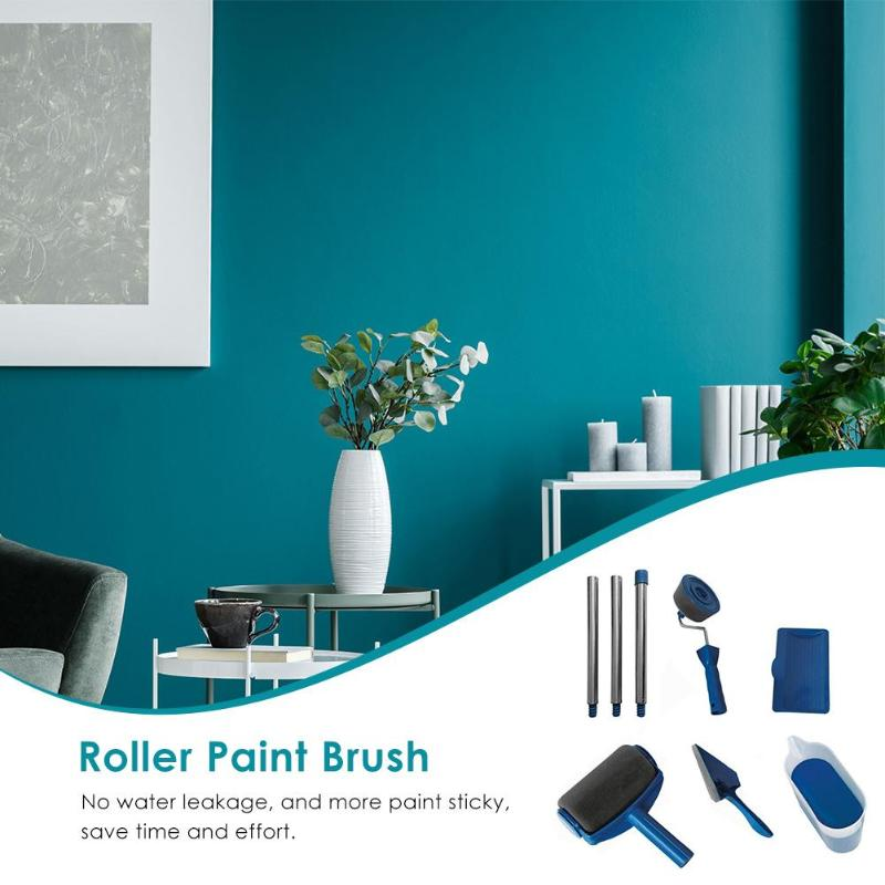 Wall Roller Paint Brush Set