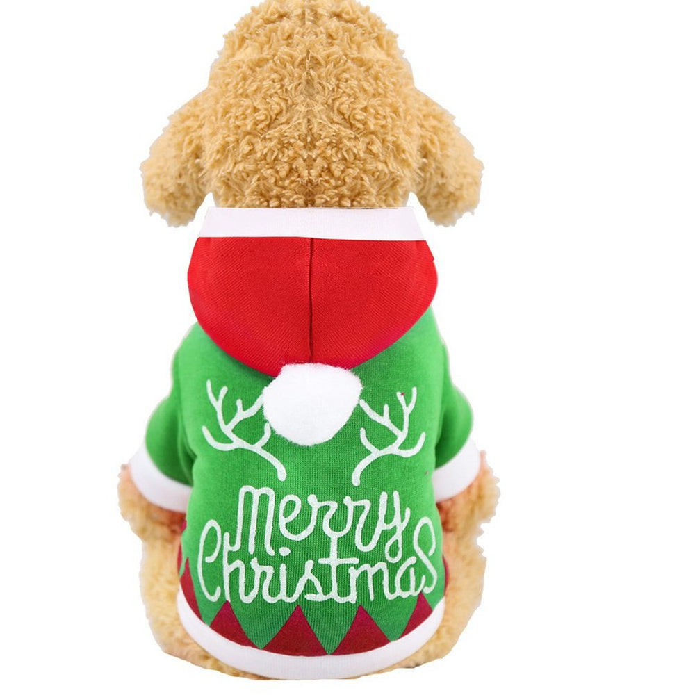 Dog Clothes Coat Funny Sweatshirt Christmas Costume