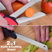 2 in 1 Kitchen Scissors and Cutting Board