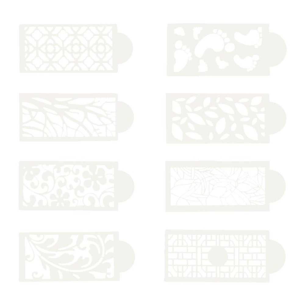 Cake lace decoration mold