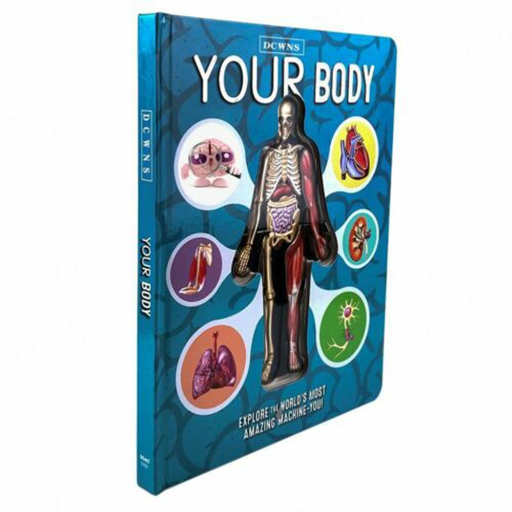 3D Picture Human Body Book