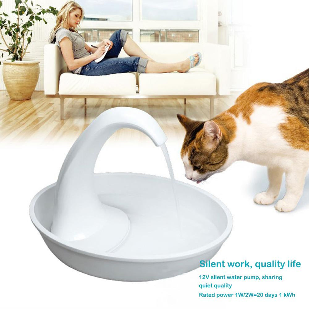 Automatic Swan Shaped Pet Water Dispenser