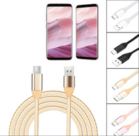 Charging Cable Type C for Android and iPhone