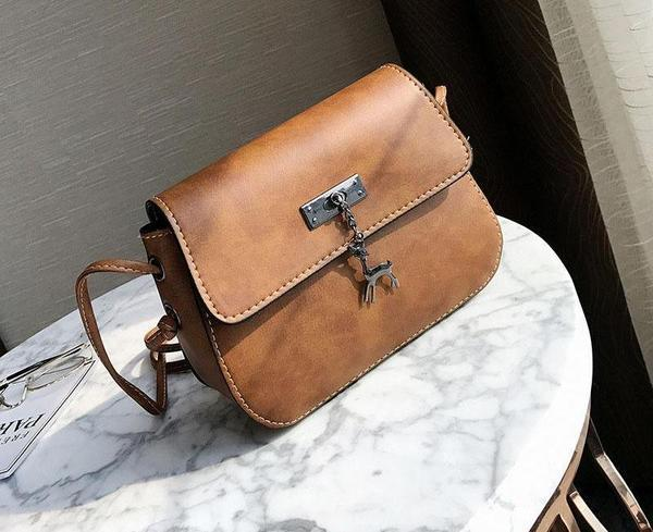 Doe - Matte Cross Body Messenger Handbag
