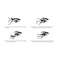 Magnetic False Eyelashes (4Pcs/2Pairs)