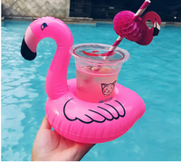 10Pcs Rosalie - Floating Flamingo Cup Holder