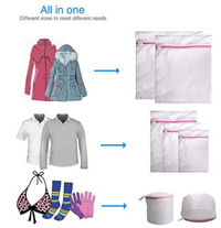 7Pcs Mesh Laundry Bag