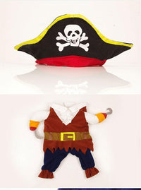 Funny Pet Pirate Costume