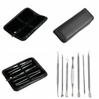(7Pcs) Ultimate Blackhead and Comedone Acne Removal Kit