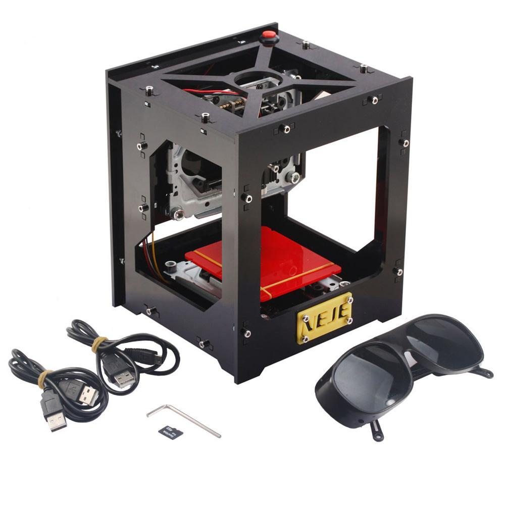 High Speed USB Laser Engraver with Protective Glasses