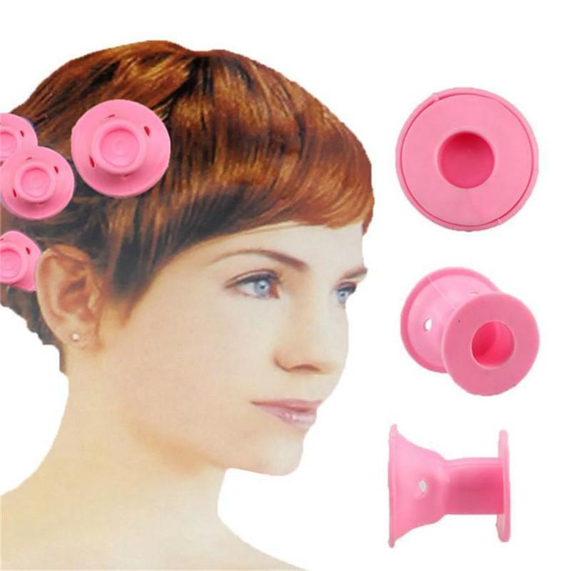 30 Pcs Silicone Hair Curlers
