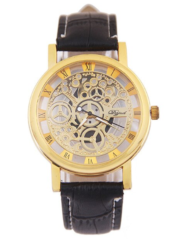 Verne - Skeleton Men's Watch
