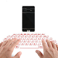 Virtual Projection Wireless Keyboard