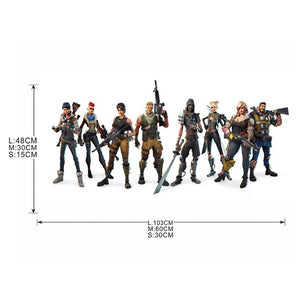 Stickers fortnite colorés - kidyhome décoration enfant bébé