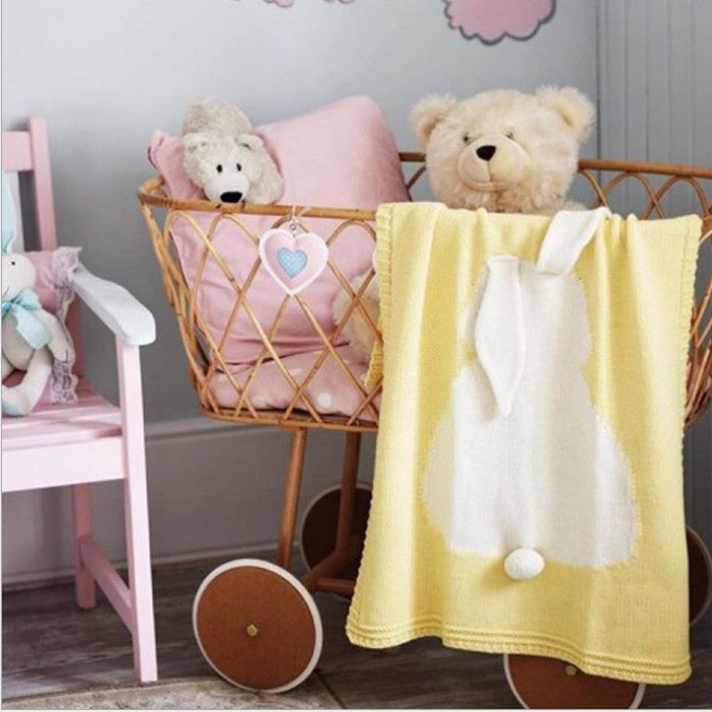 Adorable couverture lapin - kidyhome