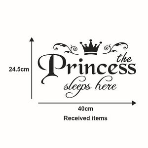 stickers couronne de princesse - kidyhome