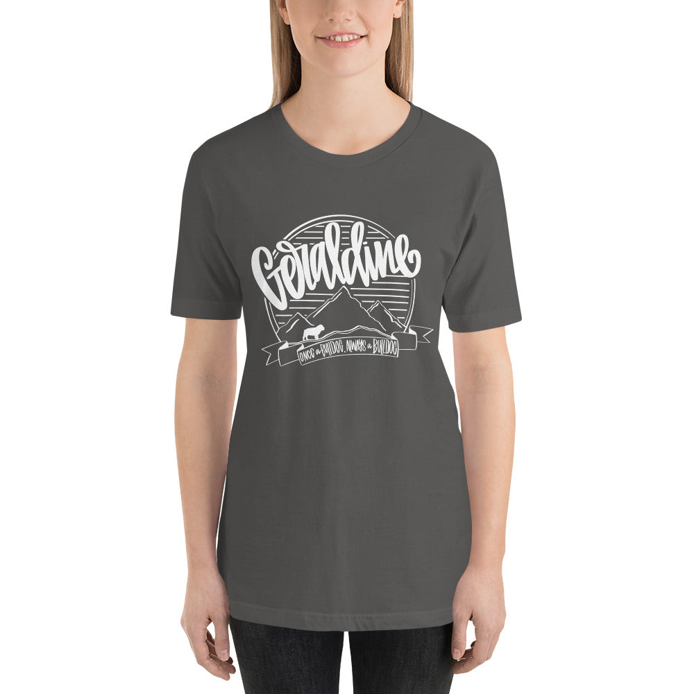 Geraldine Spirit Tee WHITE INK