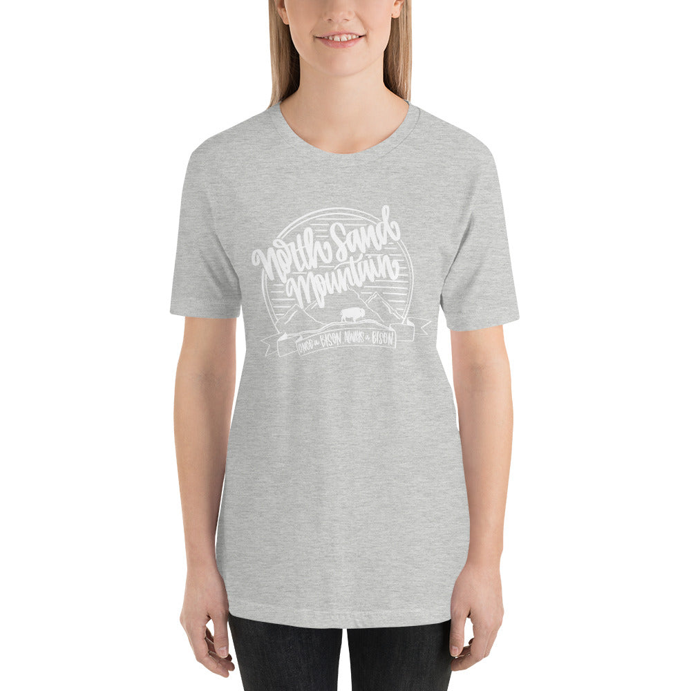 North Sand Mountain Spirit Tee WHITE INK