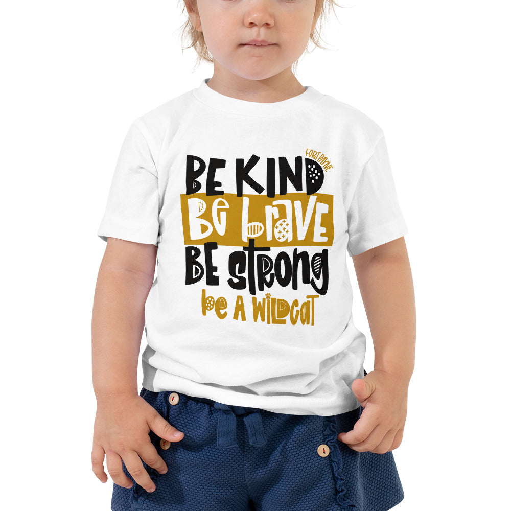 Be a Wildcat Toddler Tee (Fort Payne