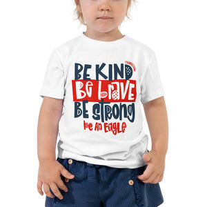 Be an Eagle Toddler Tee (Cornerstone)