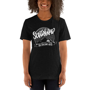Scottsboro Spirit Tee WHITE INK