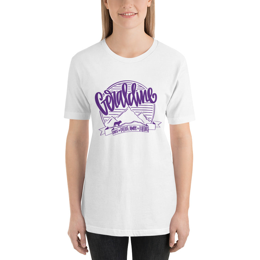 Geraldine Spirit Tee PURPLE INK