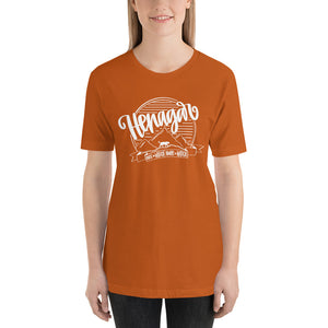 Henagar Spirit Tee WHITE INK