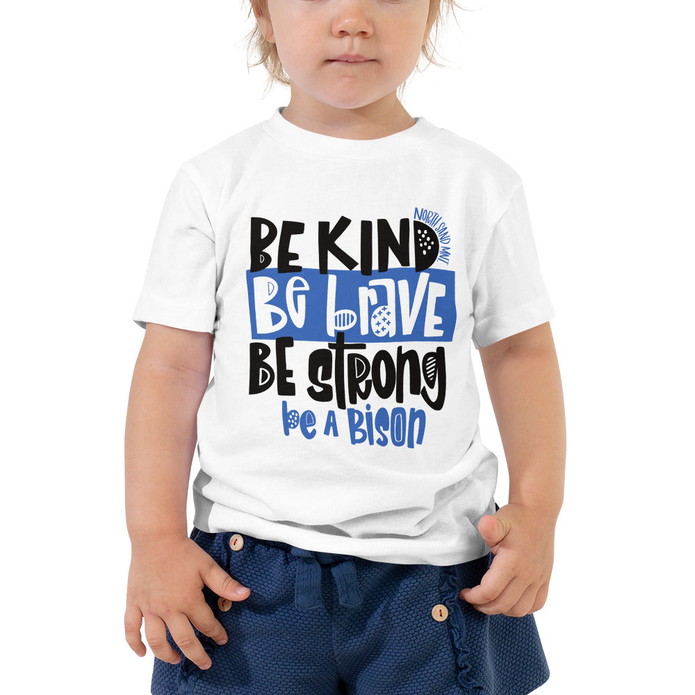 Be a Bison Toddler Tee