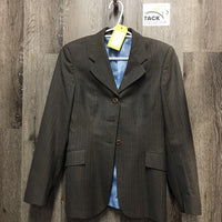 Show Jacket *gc, older, pulled/ripping lining, mnr dirt/stain?