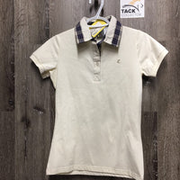 SS Polo shirt, 1/4 Button Up *new, tag