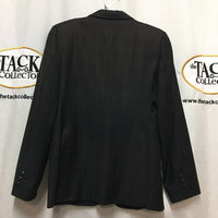 Show Jacket, windowpane pattern *gc, older, discolored/faded, mnr dirt