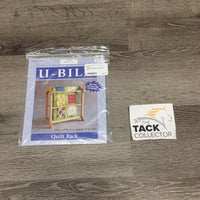 U-Bild Quilt/Blanket Rack Plans - New