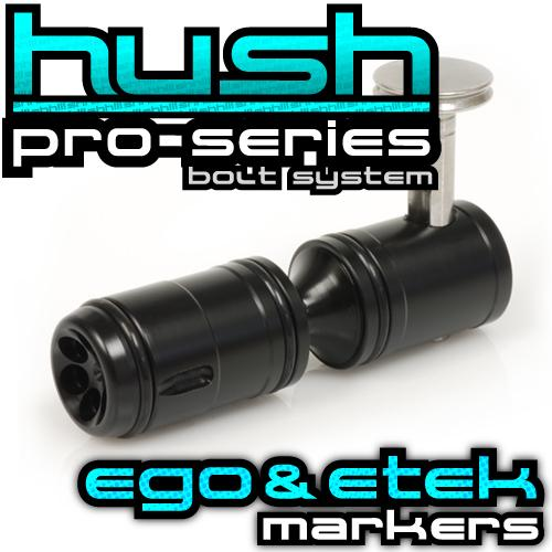 The ORIGINAL Ego and Etek HUSH Bolt Upgrade works in all older models Egos and Eteks!