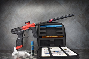 DYE DSR Cherry Black Red Fade with Carbon Barrel Upgraded