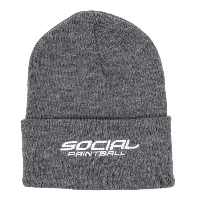 Social Paintball Beanie (Gray)