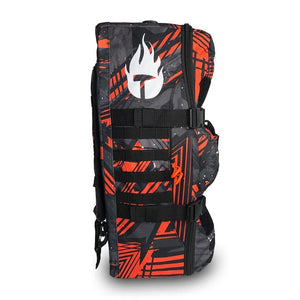 Vulcano Fire Backpack - (Orange/Gray)