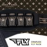 Bunkerkings Fly Pack - 4+7 Royal Chocolate Harness