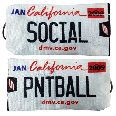 Social Paintball Barrel Cover (California License Plate)