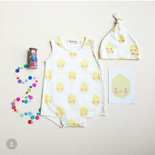 Load image into Gallery viewer, Snap Onesie All-over Lemon / Organic