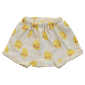 Boxy shorts Lemon / Organic