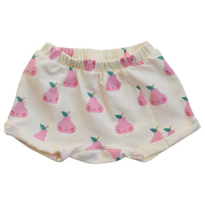 Boxy shorts Pear / Organic