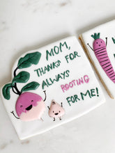 Load image into Gallery viewer, Mother's Day Cookies- set of 2 large cookies, Cookie Gift box for Mom, Mother's Care Package
